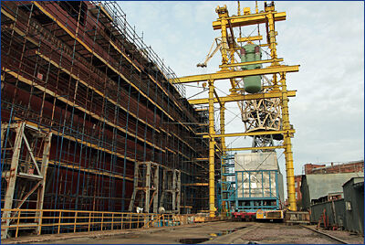 На «Урал» погрузили ядерные реакторы