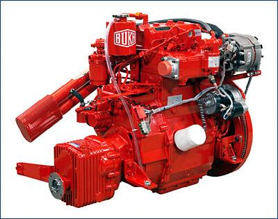 Поставка трех двигателей Bukh для проекта 01612Т
