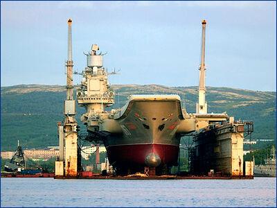 Плавдок для «Адмирала Кузнецова» построят после окончания ремонта крейсера