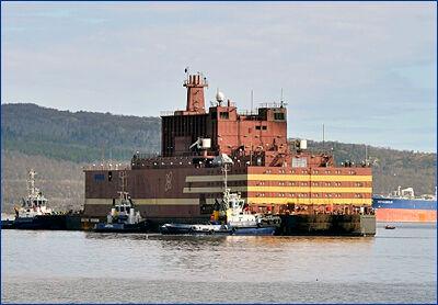 Энергетический пуск первой реакторной установки на ПЭБ «Академик Ломоносов»