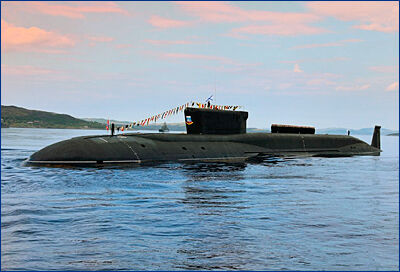 ВМФ России получит 10 атомных стратегических подлодок проекта «Борей»