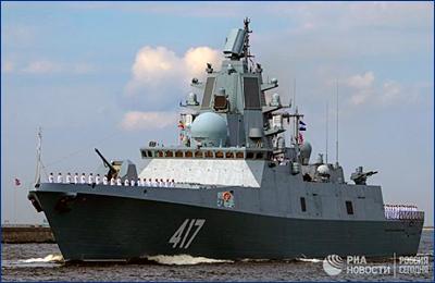 Фрегат «Адмирал Горшков» и БДК «Иван Грен» приняли в состав ВМФ