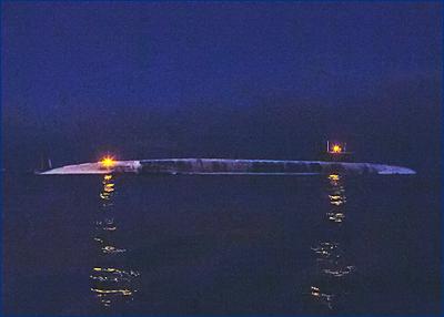 Атомный подводный ракетный крейсер «Князь Владимир» вышел на заводские ходовые испытания