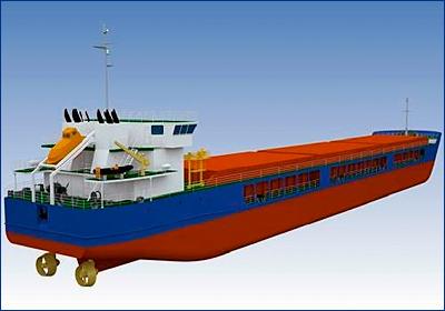 «Окская судоверфь» спустила на воду первый сухогруз проекта RSD32M