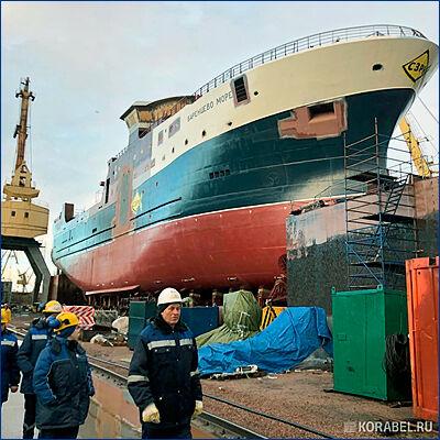 Траулер «Баренцево море» выйдет в море осенью 2019 года