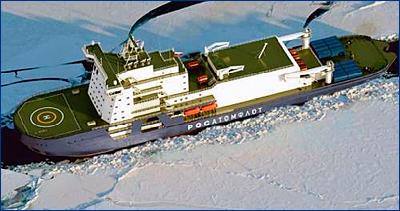 Выборгский СЗ рассчитывает построить четыре ледокола на СПГ