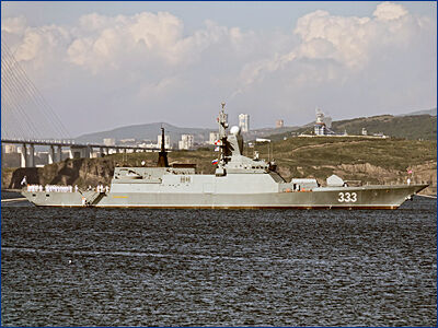 ТОФ получит восемь корветов, а также эсминец и подлодки