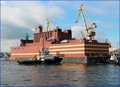 Заказчик получит первый в мире плавучий атомный энергоблок до 1 июля