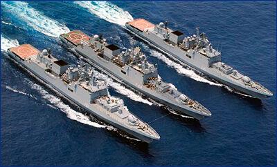 Строительство фрегатов проекта «Буревестник» для ВМС Индии возобновят в 2019 году