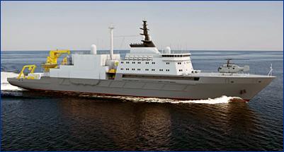 Стал известен облик серийного спасателя подлодок для ВМФ России