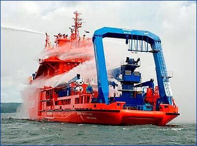 ОСК предстоит достроить судно «Спасатель Петр Грузинский»