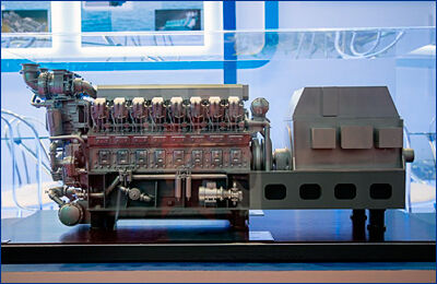 Коломенский завод продолжит работу над судовым дизелем 16СД500 в 2019 году