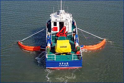 На озере Байкал будет работать новое судно для сбора мусора и нефтепродуктов