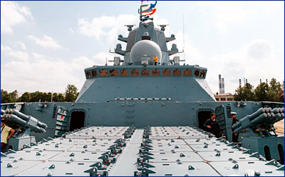 Новым фрегатам типа «Адмирал Горшков» хотят добавить «Калибров»