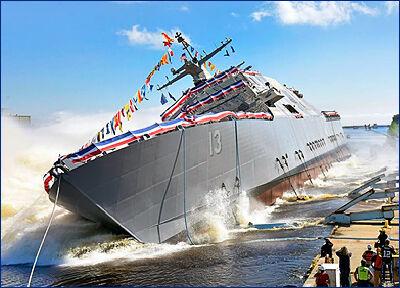 Состав ВМС США пополнит еще один корабль прибрежной морской зоны