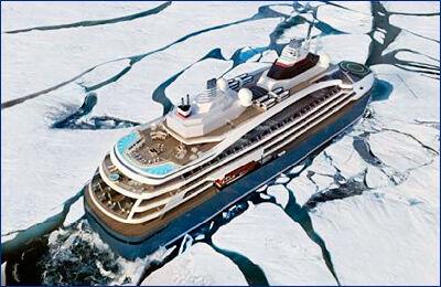 В Румынии заложили киль гибридного экспедиционного судна ледового класса