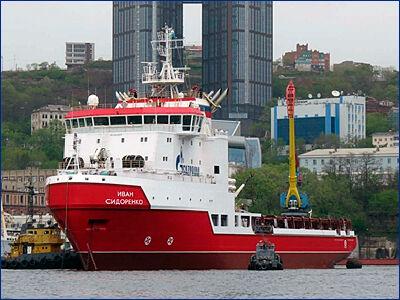 «Газпром флот» принял головное судно снабжения буровых платформ «Иван Сидоренко»