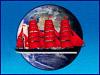 На противодиверсионном катере Тихоокеанского флота торжественно поднят Андреевский флаг