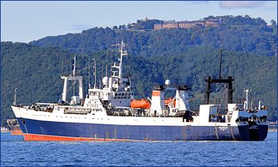 В Охотском море потерял ход траулер «Владивосток», на помощь направлено спасательное судно