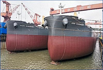 Oldendorff Carriers приняла в эксплуатацию 5 новых экологичных сухогрузов