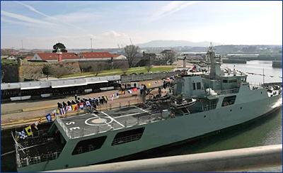 Португальский флот пополнил четвертый патрульный корабль океанской зоны