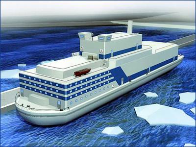 В России заказали проектирование плавучей ТЭС на СПГ