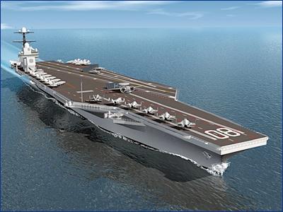ВМС США выдали контракт на строительство сразу двух атомных авианосцев