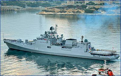 Минобороны Индии подписало с Goa Shipyard Limited контракт на строительство фрегатов проекта 11356