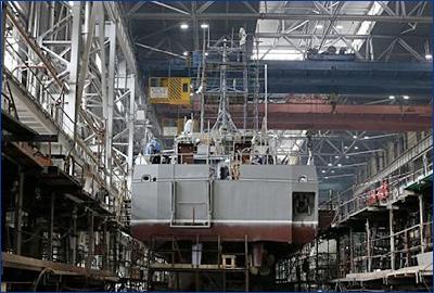 Рыбинский «Вымпел» на базе в Севастополе будет достраивать корабли для силовых ведомств