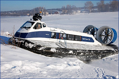 Компания «Ховеркрафт» поставит Владивостоку два судна на воздушной подушке на сумму 44 млн руб.