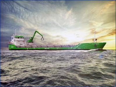 Wartsila впервые установит гибридную движительную установку на каботажном судне