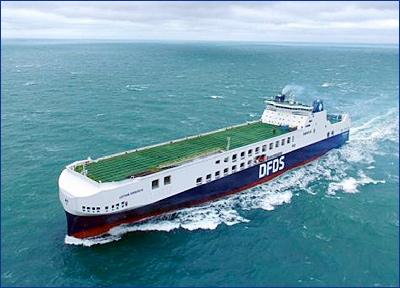 DFDS принял в эксплуатацию самый большой паром за всю историю компании