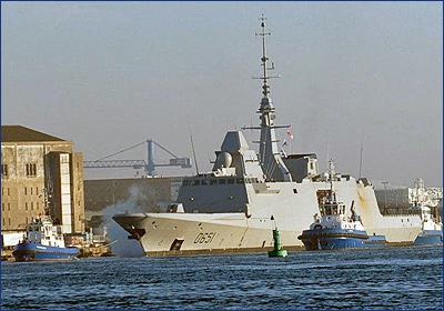 Шестой французский фрегат типа FREMM прошел первые испытания в море