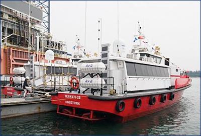 Дубайская компания получила два судна серии Damen FCS 2206