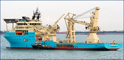 Maersk представил новое судно снабжения
