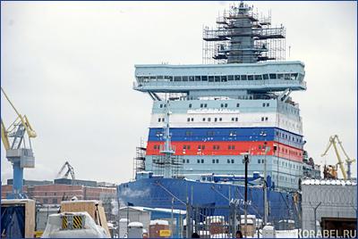 Атомный ледокол «Арктика» начнут испытывать в декабре
