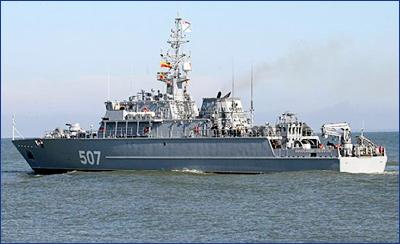 Корабль противоминной обороны «Владимир Емельянов» будет спущен на воду до конца второго квартала