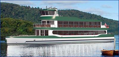 Начато строительство экологичного прогулочного судна для круизного оператора Windermere Lake Cruises