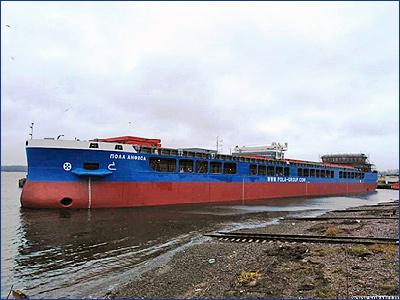 Сухогрузное судно проекта RSD59 «Пола Анфиса» вышло на ходовые испытания