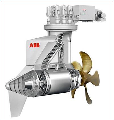 Новый Azipod M от АВВ для паромов и судов типа RoPax