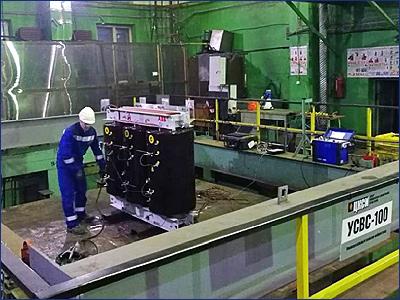 Сухие трансформаторы RESIBLOC от ABB прошли испытания на сейсмостойкость