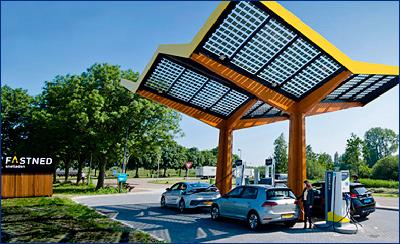 ABB и Fastned отмечают открытие 100-й заправки для электромобилей
