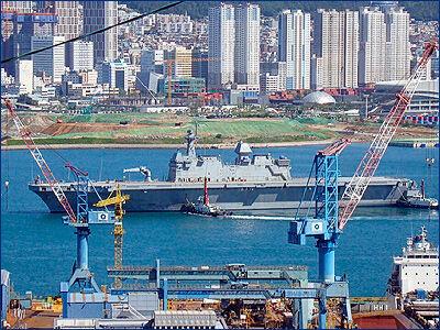 В Южной Корее утверждена постройка большого универсального десантного корабля