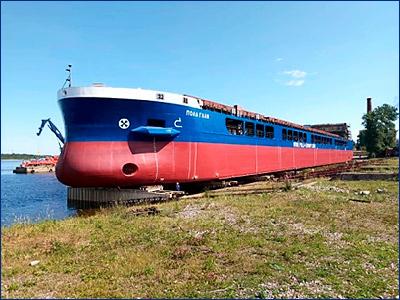 Третий сухогруз проекта RSD59 «Пола Гали» достраивается на Невском ССЗ