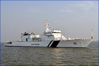 На верфи GRSE спущен на воду пятый патрульный корабль FPV для Береговой охраны Индии