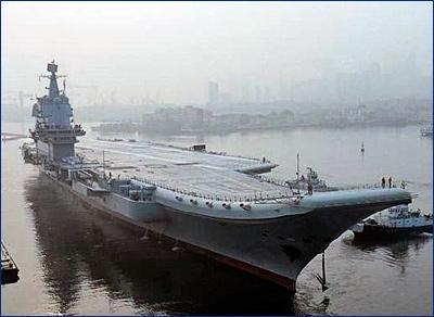 Второй китайский авианосец может быть принят на вооружение ВМС НОАК в ближайшее время