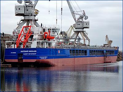Сдано восьмое многоцелевое сухогрузное судно дедвейтом 6220 тонн проекта RSD32M «Анатолий Николаев»