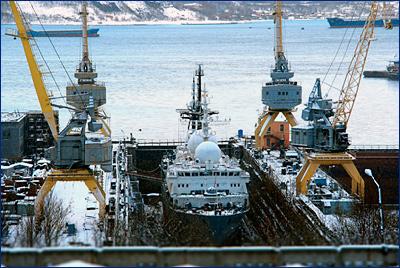 Арктический центр судостроения и ремонта создадут в России