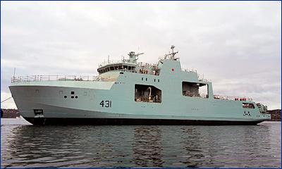В Канаде спустили на воду второй патрульный ледокол нового поколения