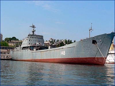 Источник: на десантном корабле «Орск» Черноморского флота сломался двигатель